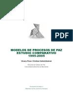 Modelos de Procesos de Paz Estudio Comparativo 1995-2005.