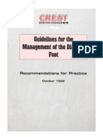 Wound Management Diabetic Foot