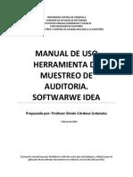 Manual de Uso Idea