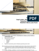 Proceduri standardizate KDF