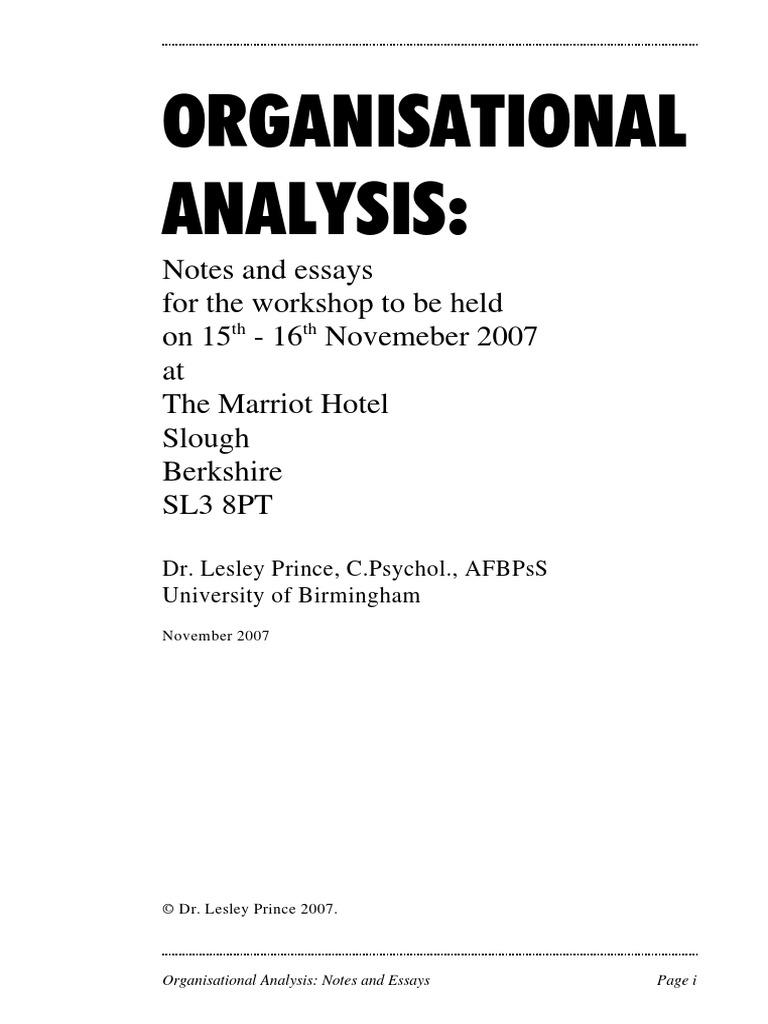 Bank case study analysis