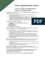 Comportamiento Organizacional Prueba 4