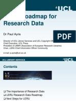 Airys-LERU Roadmap for Research Data