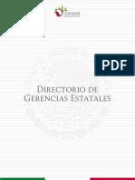 Directorio de Gerencias Estatales CONAFOR