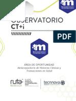 Informe Observatorio Metarepositorio Upb