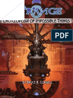 The Strange - Encycolpedia of Impossible Things