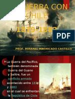 Laguerradelpacifico UAP HISTORIA