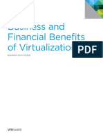 VMware Business Financial Benefits Virtualization Whitepaper