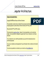 Computer Architecture Computer Systems