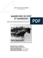 Cours Manoeuvres-port Amarrage