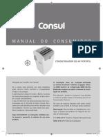 Modelo Condicionador Ar Portátil Consul C1A12 e C1B12 Manual de Instruções