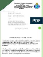 Exposicion Decreto Legislativo 1221