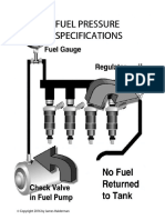 Fuel Pressure Specifications