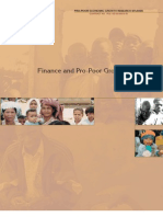 Finance and Pro-Poor Growth