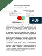 Repensar la Sociología en América Latina
