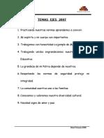 Temas Ejes 2007 - Primaria