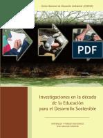 Investigaciones en La Década de La Educación Para El Desarrollo Sostenible