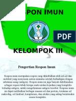 Respon Imun Kel. III
