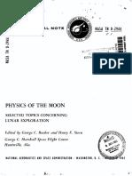 Physics of Moon -Nasa
