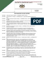 CI-06-03349 DOCKET SHEET re CATERBONE v. Lancaster General Hospital Filed April of 2006 OPEN CASE