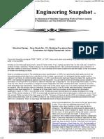 Tire Cracking Repair Welding Case Study 111