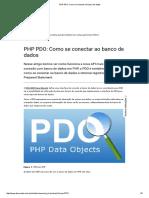 PHP PDO_ Como Se Conectar Ao Banco de Dados