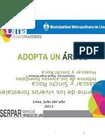 Resumen Ejecutivo - Informe de Viveros Forestales SERPAR-01