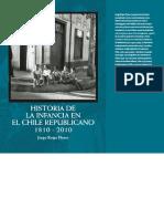 Rojas Flores_Historia de La Infancia en El Chile Republicano