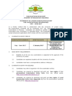 UoL Examination Entry for International Programmes May_June 2017_latest