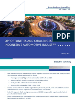 Indonesia Automotive Industry Outlook 2020