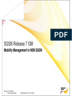 04 Mobility Management in NSN SGSN SG7 CN3122EN70GLN00 Ppt