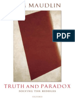 Truth and Paradox Solving the Riddles - Tim Maudlin