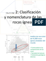 Tema 2. Clasificación y Nomenclatura de Rocas Metamórficas