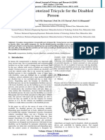 Sub 151155Review of Motorized Tricycle for the Disabled Person