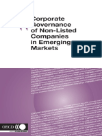 CG of Non Listed Companies in Emerging Markets