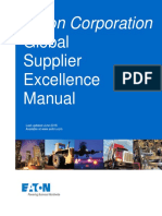 Eaton Supplier Excellence Manual Rev 12