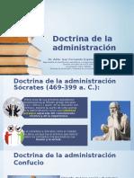 Tema 2 Doctrina de La Administración
