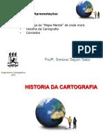 Cartografia - História da cartografia