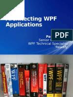 Architecting WPF Applications