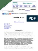 Teachings Bhaktiyoga