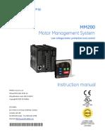MM200 Instruction Manual - GEK-113400C