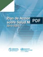 Plan de Accion OMS 2015 2020