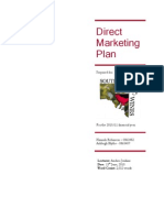 Direct Marketing Plan - Marketing IIIB