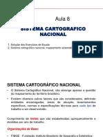 Cartografia - Sistema cartográfico nacional