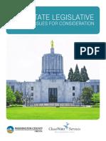 2017 Washington State Legislative Agenda