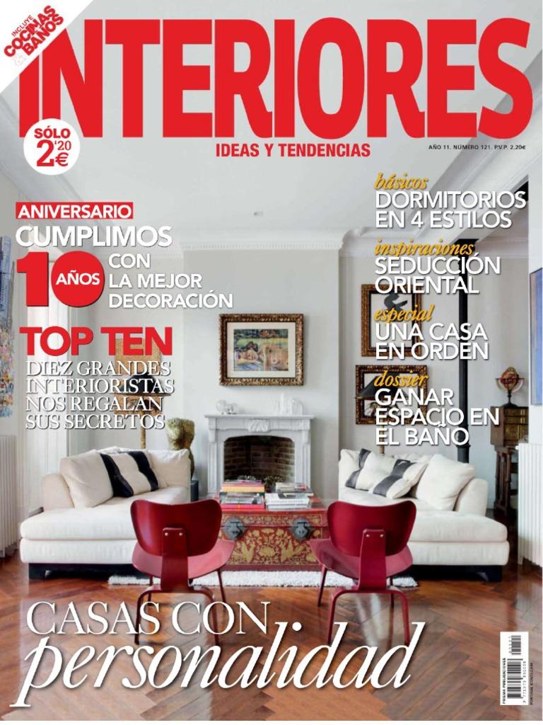 Interiores Nº121 - Marzo 2010