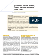 Epidemiology of Systemic Sclerosis
