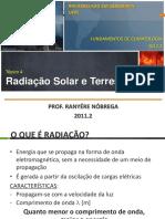 Climatologia - Radiação solar e terrestre