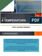 Climatologia - Temperatura