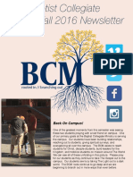BCM Fall 2016 Newsletter